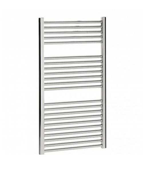 Bauhaus Design 500 x 1110mm Flat Panel Chrome Towel Rail