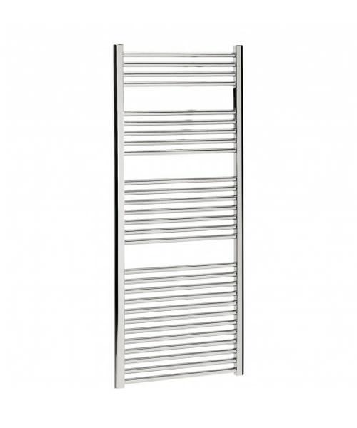 Bauhaus Design 500 x 1430mm Flat Panel Chrome Towel Rail