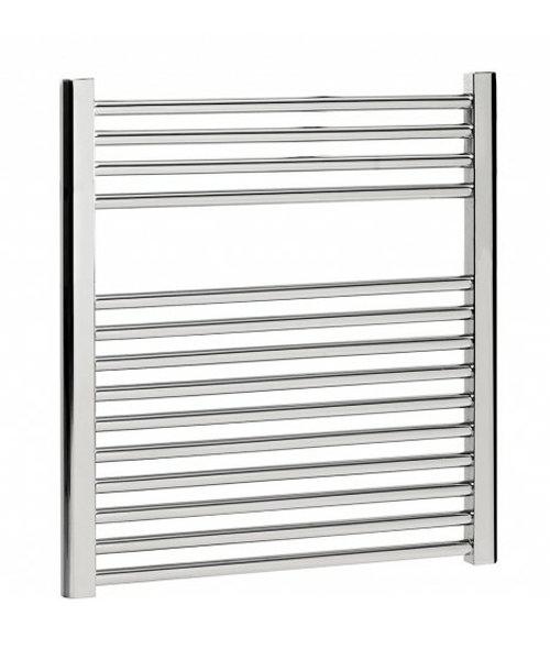 Bauhaus Design 600 x 690mm Flat Panel Towel Rail