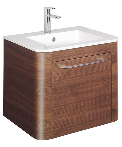 Additional image of Bauhaus Celeste 600mm Single Drawer Basin Unit