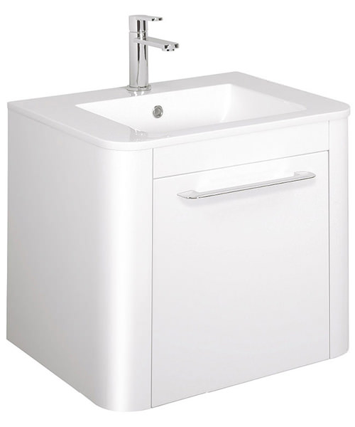 Bauhaus Celeste 600mm Single Drawer Basin Unit