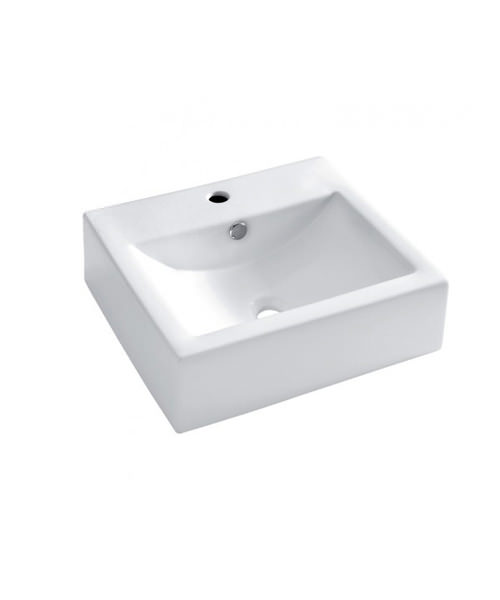 Bauhaus Bolonia 500mm Wide Wall Mounted Basin