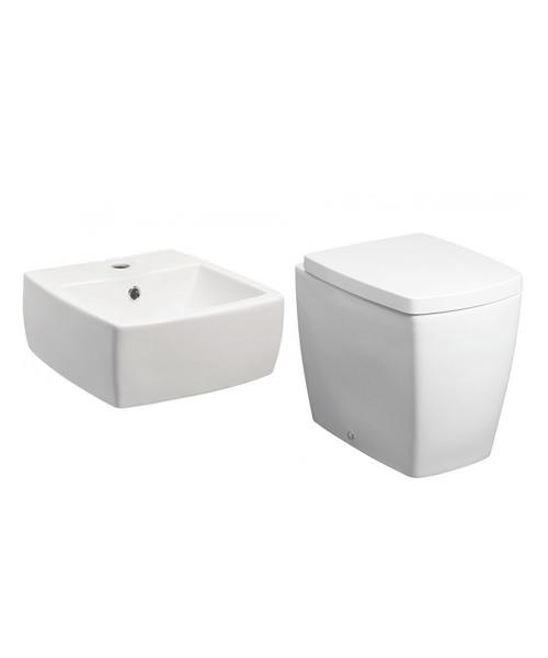Bauhaus Touch Modern Design Cloakroom Suite