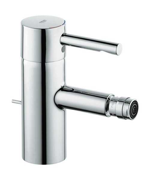 Grohe Essence Monobloc Bidet Mixer Tap With Pop-Up Waste