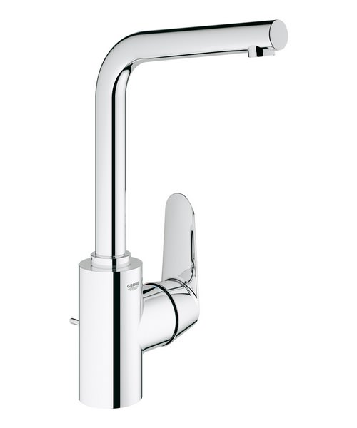 Grohe Eurodisc Cosmo Basin Mixer Tap With Pop-Up Waste