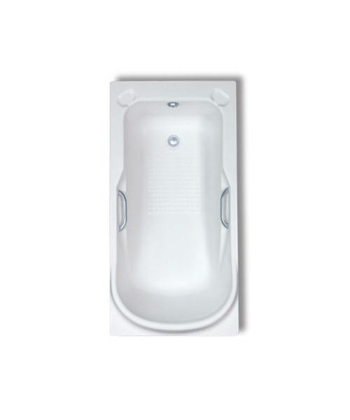 Trojan Premier 5mm Acrylic Bath 1380 x 690mm With Twin Grips