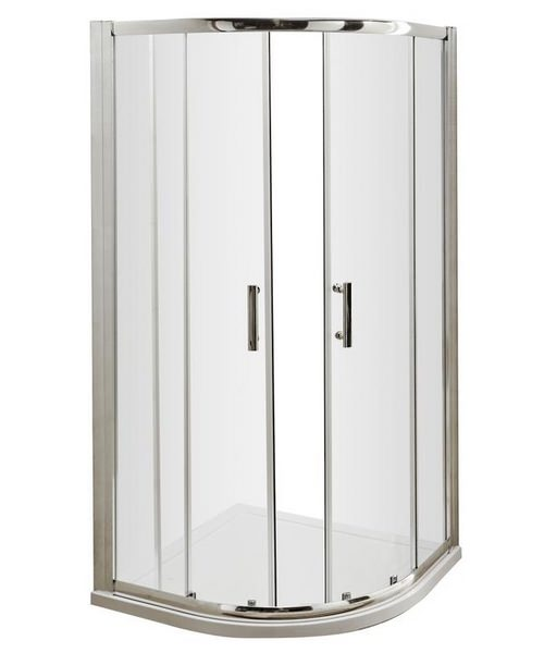 Beo Framed 800mm Double Door Quadrant Shower Enclosure