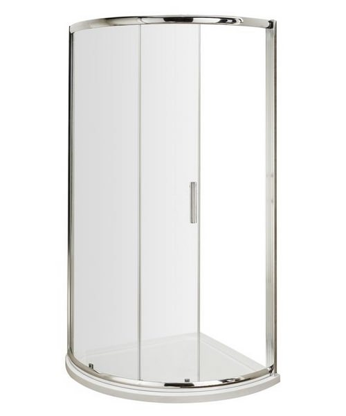 Beo Single Door Framed Quadrant Enclosure 900mm With Tray
