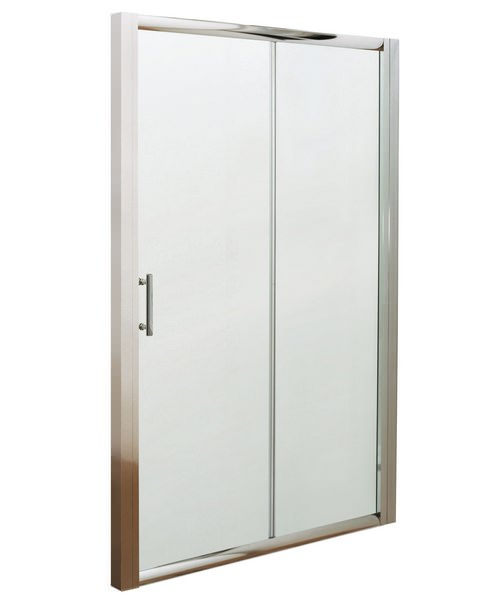 Beo Framed Single Sliding Shower Door 1000mm