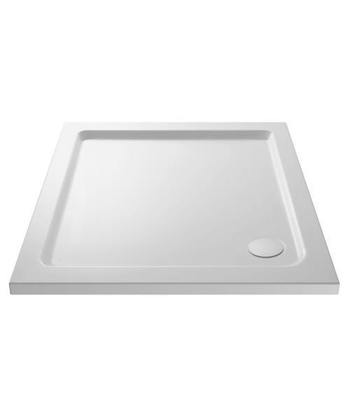Nuie Premier Pearlstone 800 x 800mm Square Shower Tray