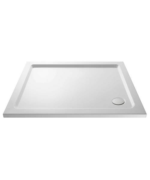 Beo Hydrastone 1000 x 800mm Rectangular Shower Tray
