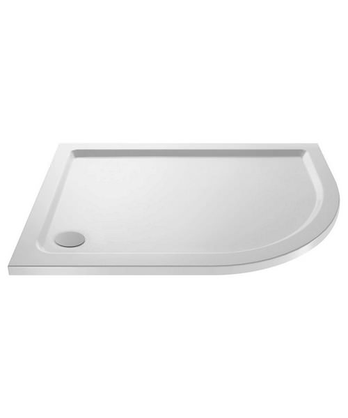 Beo Hydrastone 1200 x 800mm Offset Right Hand Quadrant Shower Tray