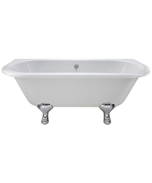 Beo Royal 1700 x 745mm Freestanding Acrylic Bath With Corbel Legs