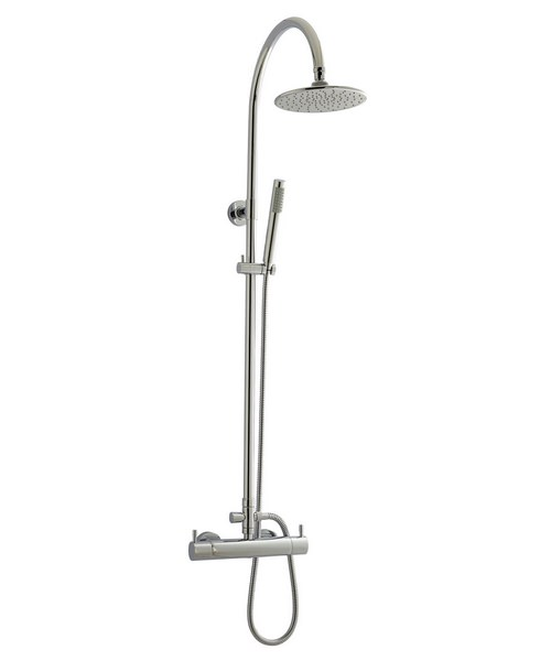 Beo Waterfall Thermostatic Shower Set