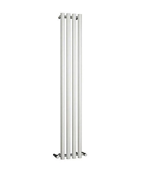 Reina Oria White 270 x 1800mm Designer Vertical Radiator