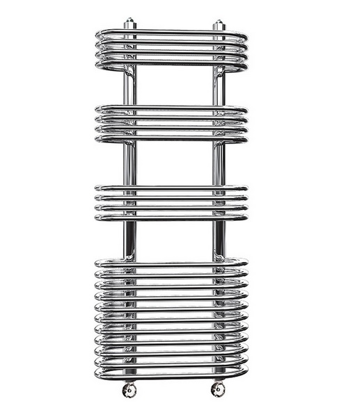 Reina Mirus Chrome 500 x 900mm Designer Radiator