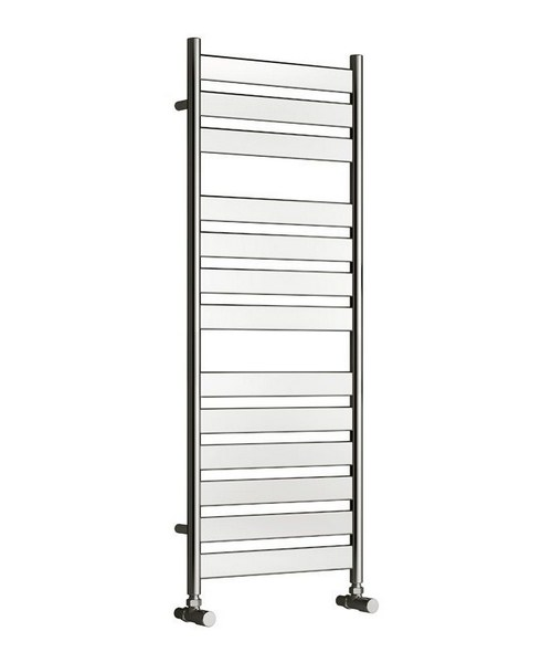 Reina Carpi Chrome 400 x 800mm Towel Rail Radiator