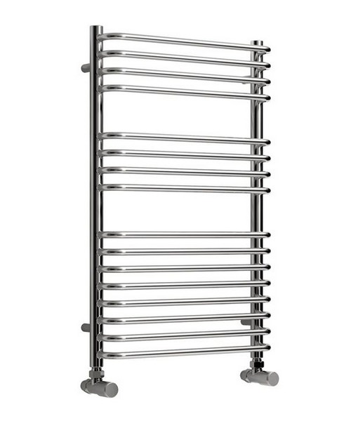 Reina Isaro Chrome 300 x 800mm Designer Vertical Radiator