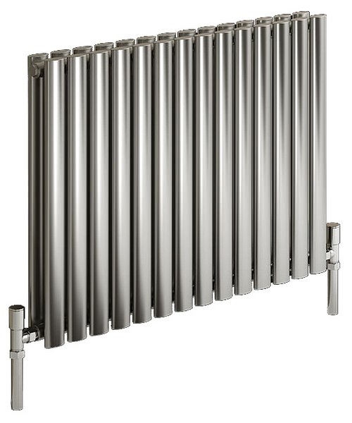 Reina Nerox Double Polished 590 x 600mm Stainless Steel Radiator