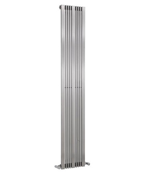 Reina Karia Satin Finish 300 x 1800mm Stainless Steel Radiator