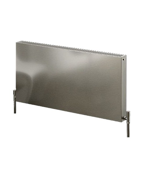 Reina Panox Satin Finish 400 x 600mm Stainless Steel Radiator