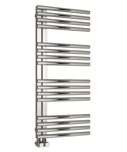 Reina Adora Polished Stainless Steel Radiator 500 x 1106mm