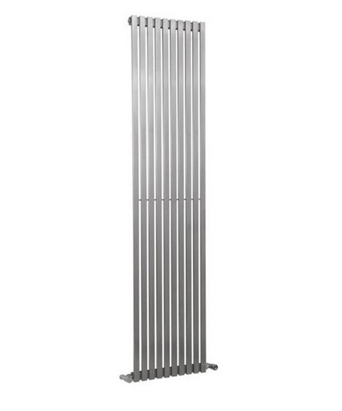 Reina Xeina Satin 245 x 1800mm Stainless Steel Designer Radiator