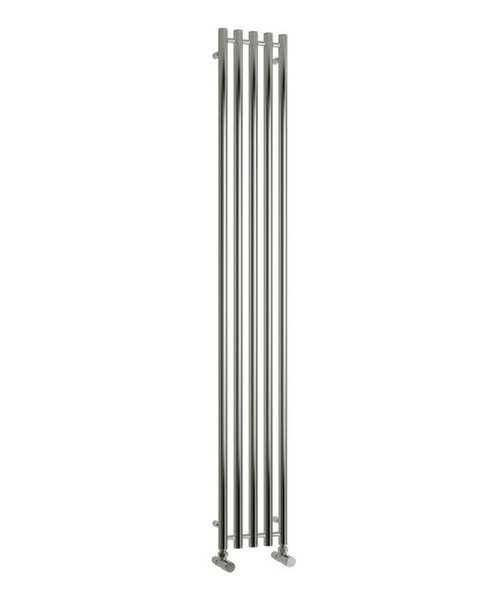 Reina Broni Polished Stainless Steel Radiator 374 x 1200mm
