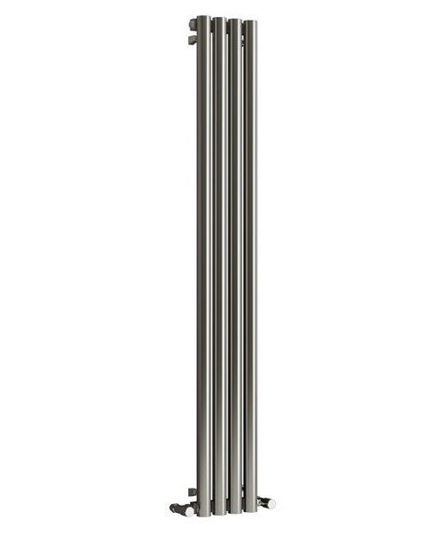 Reina Harmony Satin Stainless Steel Designer Radiator 250 x 1800mm