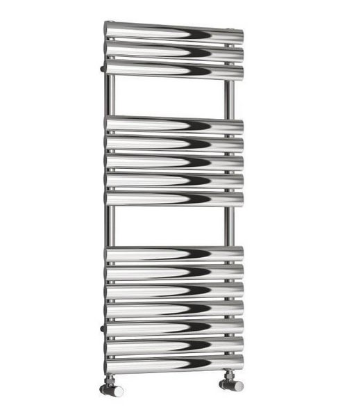 Reina Helin Polished Stainless Steel Designer Radiator 500 x 826mm