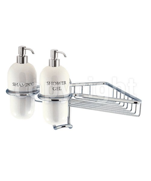Crosswater Solo Single Wire Basket With Ceramic Dispensers