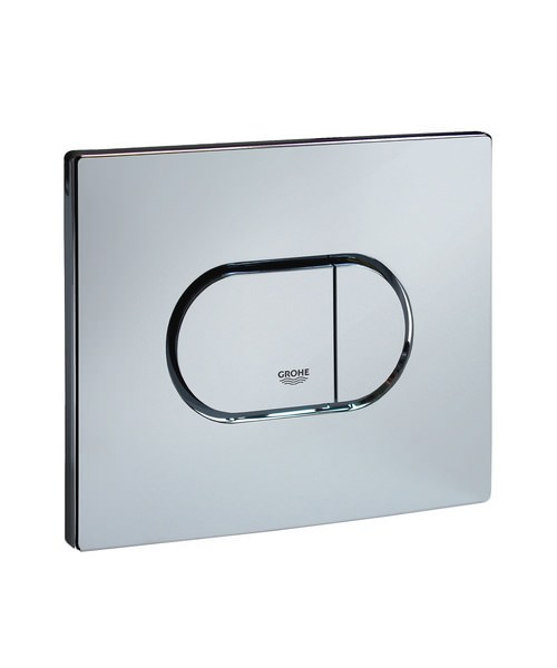 Grohe Arena Cosmopolitan Chrome Horizontal Flush Plate
