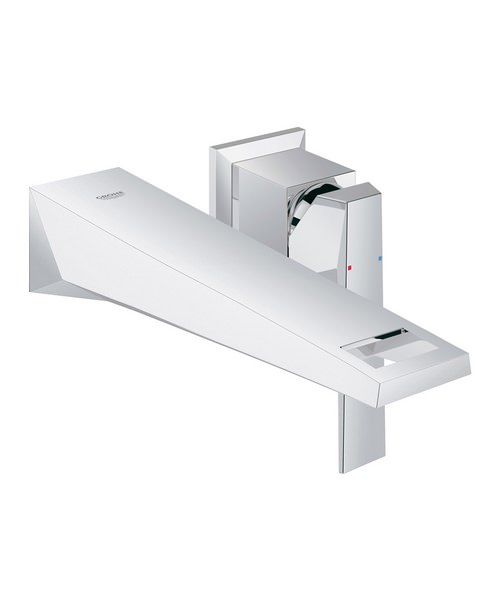 Grohe Spa Allure Brilliant 2 Hole Wall Mounted Basin Mixer Tap Chrome