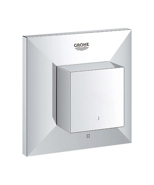 Grohe Spa Allure Brilliant Chrome Concealed Stop Valve Trim