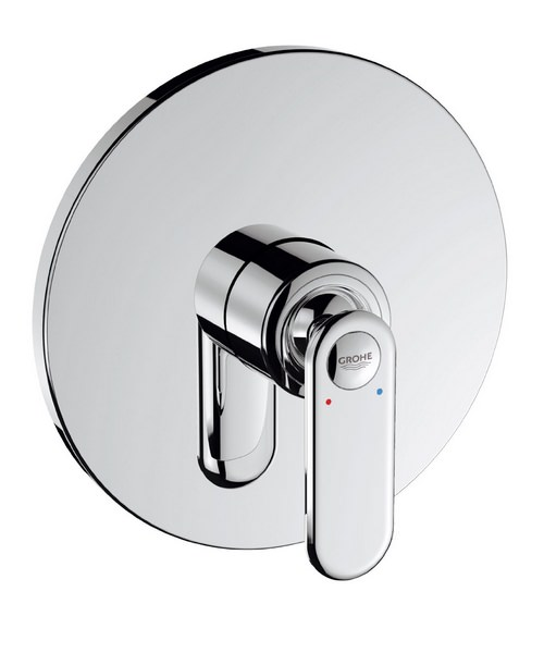 Grohe Spa Veris Chrome Concealed Single Lever Shower Mixer Trim