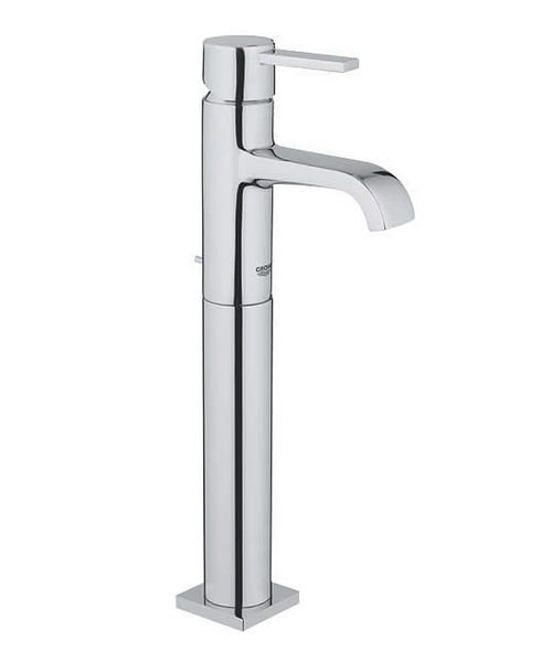 Grohe Spa Allure Chrome High Bowl Basin Mixer Tap With Pop Up Waste