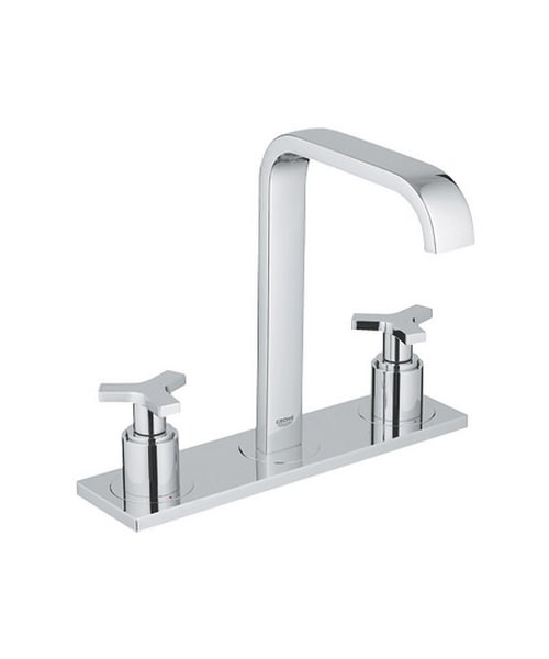 Grohe Spa Allure Chrome 3 Hole Deck Mounted Basin Mixer Tap