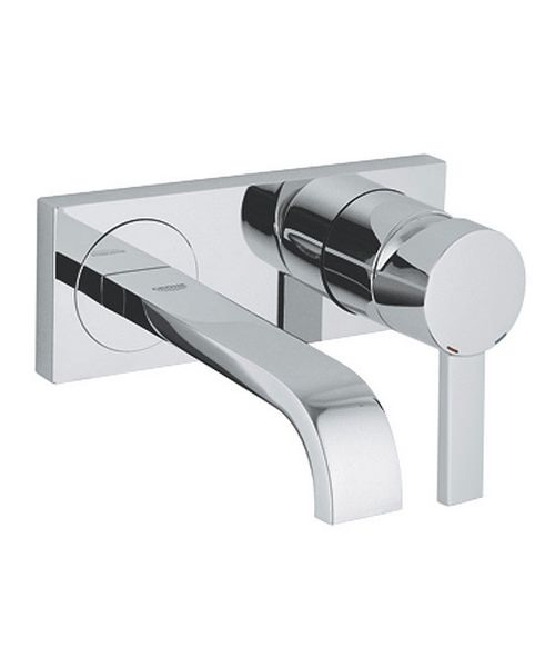Grohe Spa Allure Chrome 2 Hole Wall Mounted Basin Mixer Tap