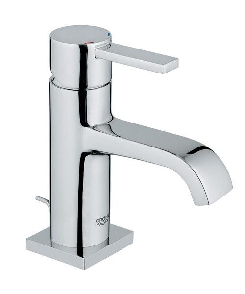 Grohe Spa Allure Chrome Low Spout Basin Mixer Tap