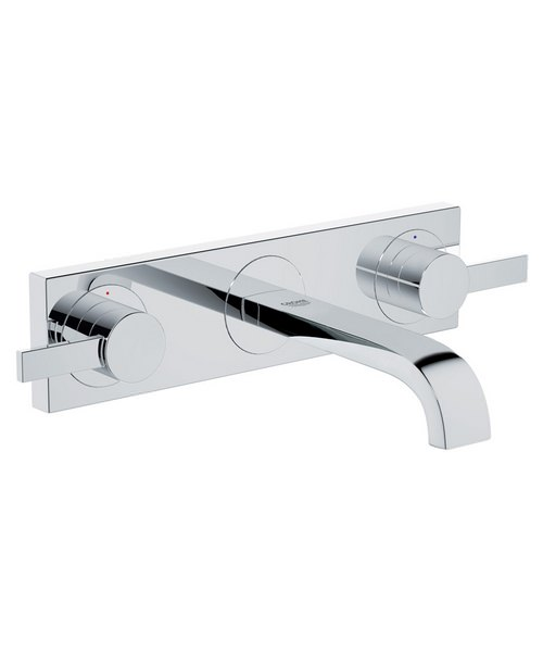 Grohe Spa Allure Wall Mounted 3 Hole Basin Mixer Tap