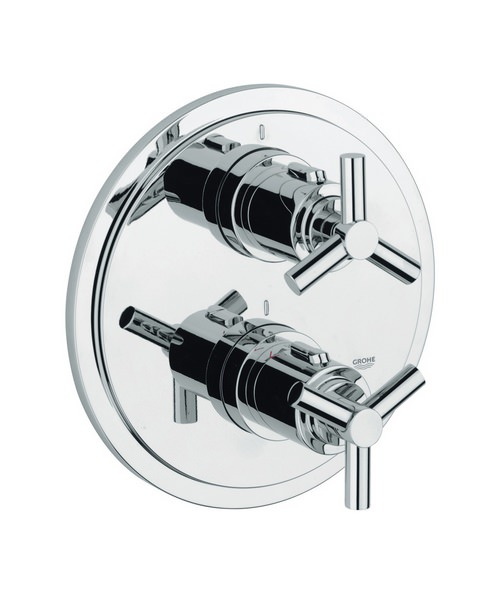 Grohe Spa Atrio Ypsilon Chrome Thermostatic Shower Mixer Valve