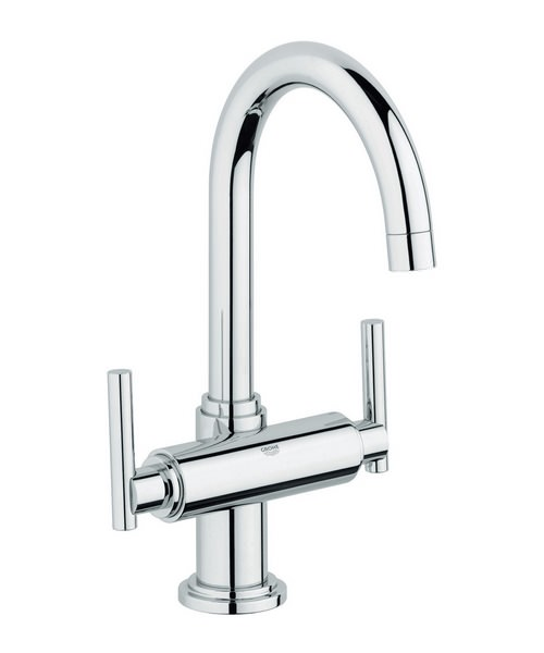 Grohe Spa Atrio Jota Basin Mixer Tap With Pop-Up Waste