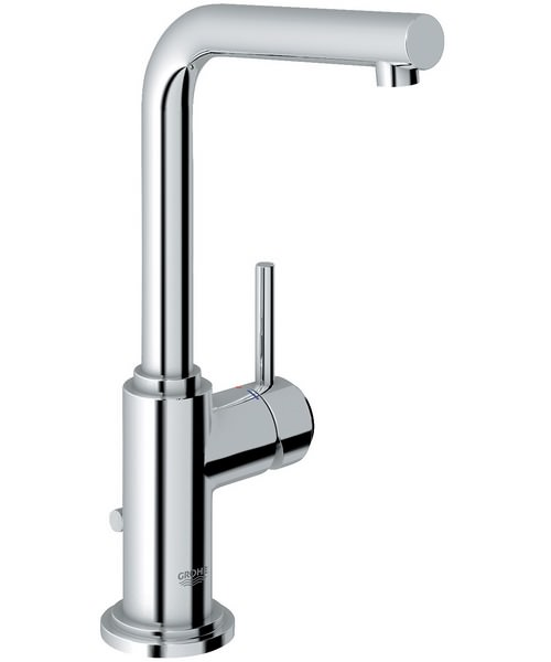 Grohe Spa Atrio Swivel Basin Mixer Tap With Pop Up Waste