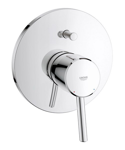Grohe Concetto Chrome Single Lever Bath Shower Mixer Valve Trim