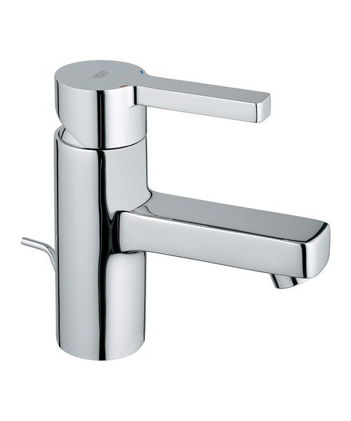 Grohe Lineare Monobloc Basin Mixer Tap With Pop-Up Waste