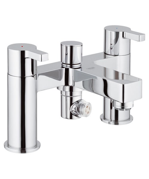 Grohe Lineare Chrome Deck Mounted Bath Shower Mixer Tap