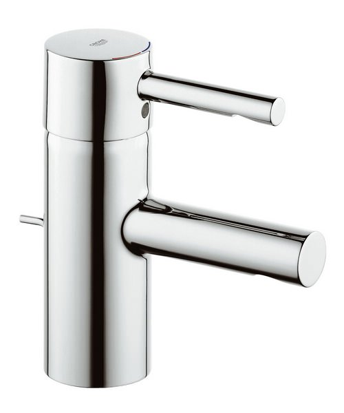 Grohe Essence Chrome Basin Mixer Tap With Pop Up Waste