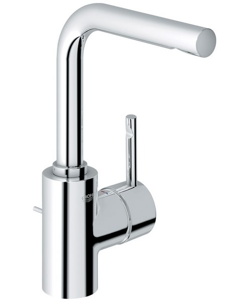 Grohe Essence Monobloc Basin Mixer Tap With Pop Up Waste