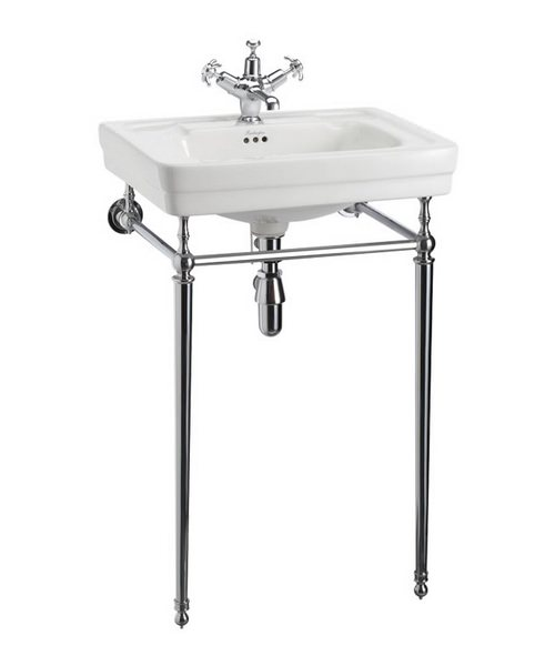 Burlington Contemporary 580mm Basin And Wash Stand
