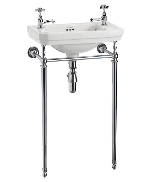 Burlington Victorian 510mm Cloakroom Basin And Wash Stand